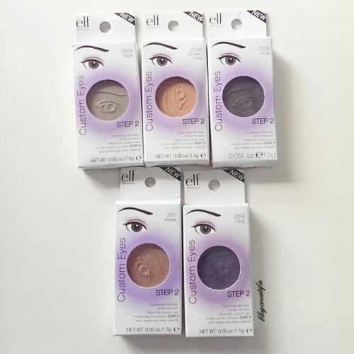 ELF custom eyes eyeshadows packaged
