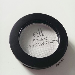 ELF pressed mineral eyeshadow bridal party 6561 white single