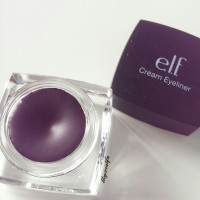ELF studio cream eyeliner 81158 plum purple