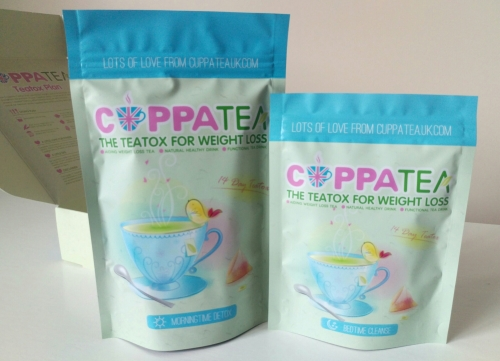 Cuppatea uk teatox weight loss morning bedtime cleanse